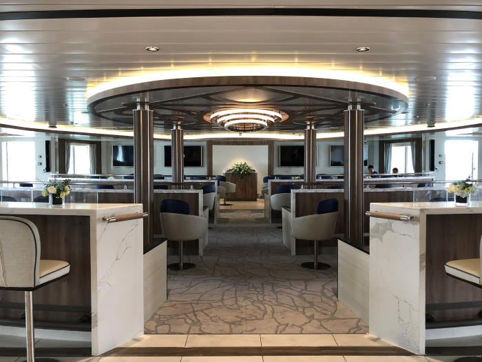 Greg Mortimer's l;ecture room, featured in Africa PORTS & SHIPS maritime news