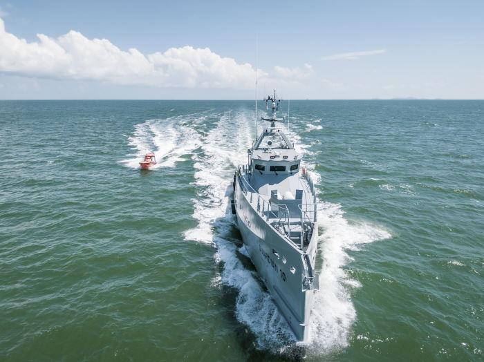 Damen FCS 3307 Guardian Patrol vessel featured in Africa PORTS & SHIPS maritime news