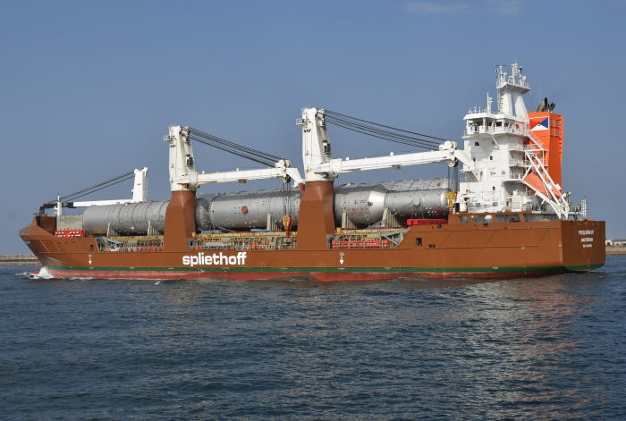 Poolgracht sailing from Durban, Picture: Trevor Jones, featuring in Africa PORTS & SHIPS maritime news