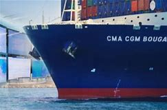 CMA CGM banner, displayed in Africa PORTS & SHIPS maritime news