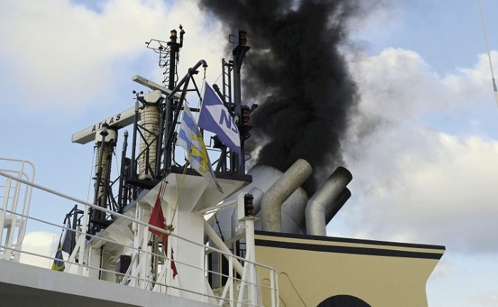 ship pollution, featured in Africa PORTS & SHIPS maritime news