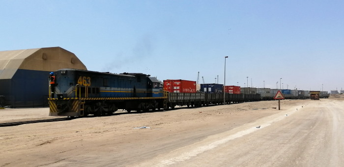 Cargo transported rail to and from the Namibian Port of Walvis Bay is on the increase, featured in Africa PORTS & SHIPS maritime news