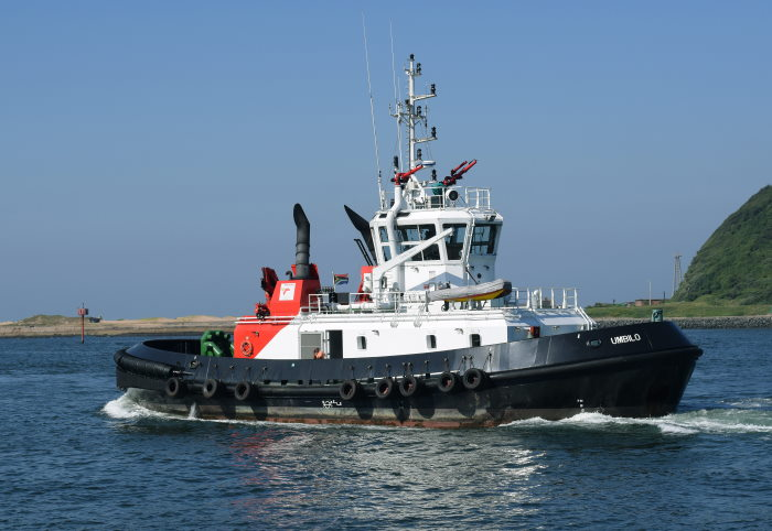 Former Durban tug UMBILO which has been transferred to Cape Town. Picture: Trevor Jones, featured in Africa PORTS & SHIPS maritime news