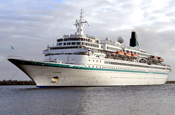 Albatros. Picture: Ian Shiffman, featured in Africa PORTS & SHIPS maritime news