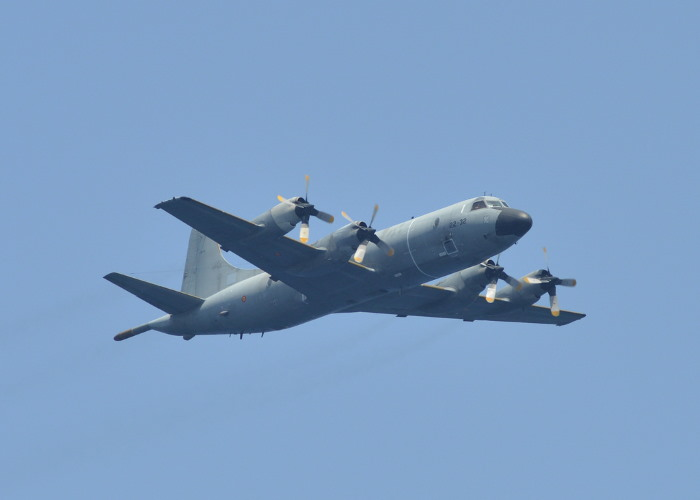 P-3 Orion aircraft of the Spanish Air Force, featured in Africa PORTS & SHIPS maritime news