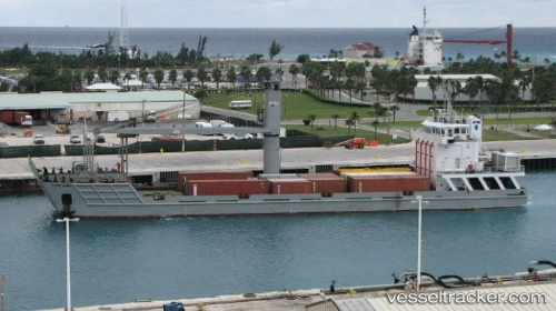 The landing craft cargo vessel Tropic Dawn. Picture: Vesseltracker, featured in Africa PORTS & SHIPS maritime news