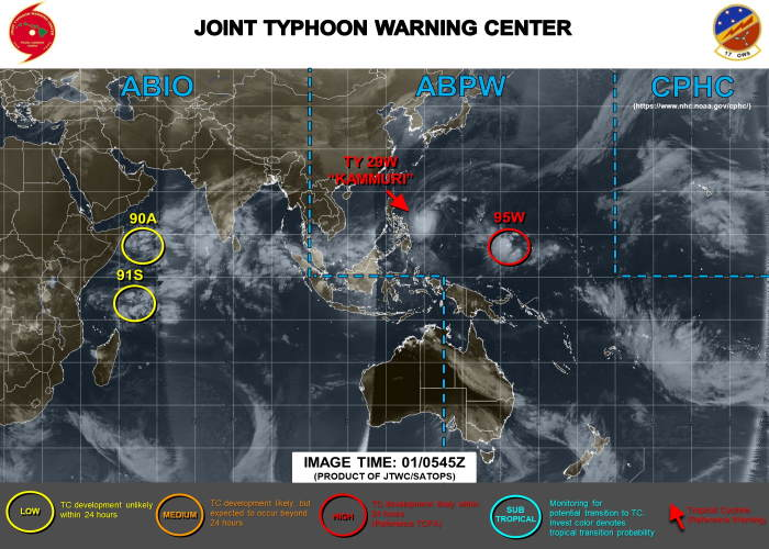 Image: Joint Typhoon Warning Centre, featured in Africa PORTS & SHIPS maritime news