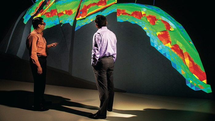 ExxonMobil makes of high-performance oil and gas reservoir computing combining software, engineering and geoscience skills. Pictures: www.corporate.exxonmobil.com ©, featured in Africa PORTS & SHIPS