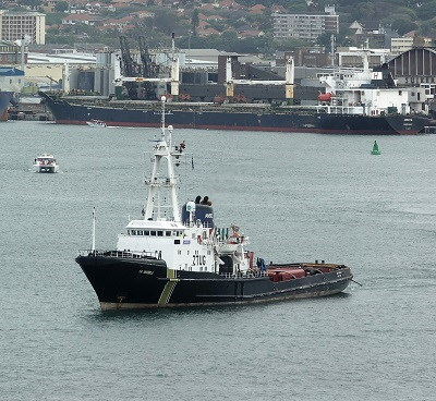 SA Amandla. Picture: Roy Reed Photography, featured in Africa PORTS & SHIPS