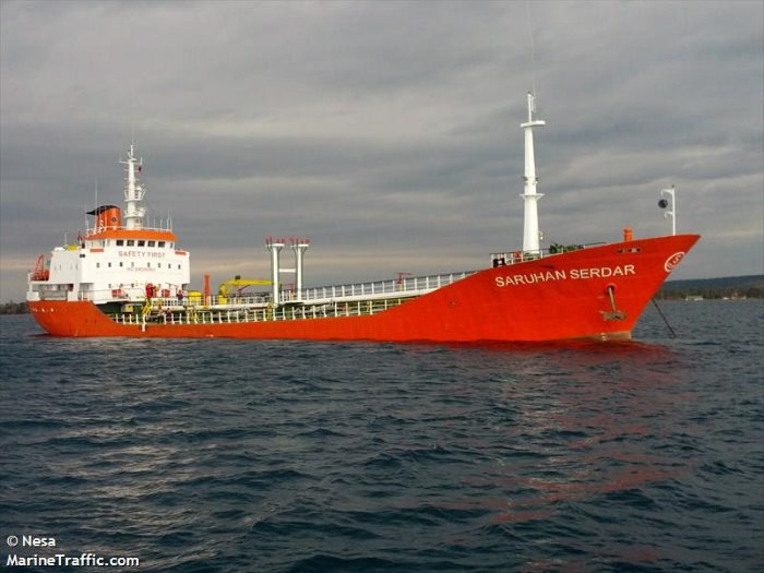 Suspected mothership Determination 2 under previous ownership as Saruhan Serdar. Picture: Nesa / MarineTraffic, featured in Africa PORTS & SHIPS maritime news