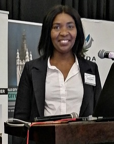 East London Port Manager Sharon Sijako presented at the Buffalo City Metropolitan Municipality Investment Conference in East London, featuring in Africa PORTS & SHIPS maritime news
