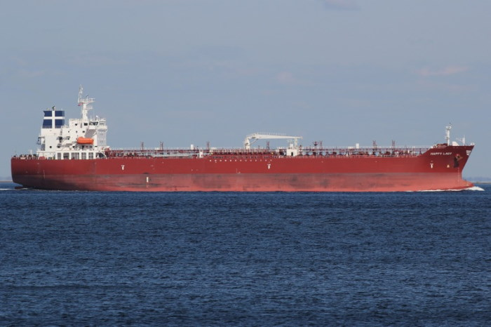 Products tanker HAPPY LADY, attacked by pirates and crew kidnapped. Picture courtesy: Shipspotting, featured in Africa PORTS & SHIPS maritime news