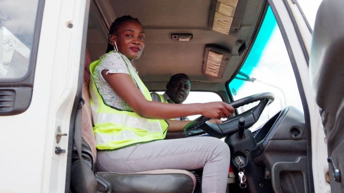 Transaid driver training course, featured in Africa PORTS & SHIPS maritime news