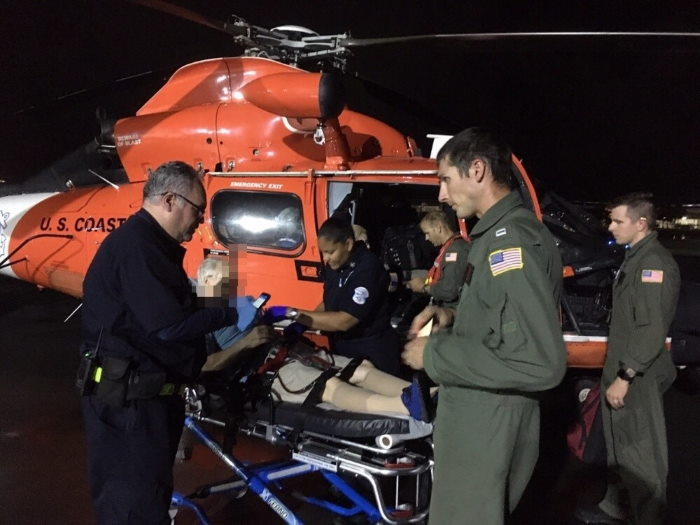 Photo kindly provided by USCG 7th District Puerto Rico and US Virgin Islands online newsroom. Photo USCG ©, featured in Africa PORTS & SHIPS maritime news