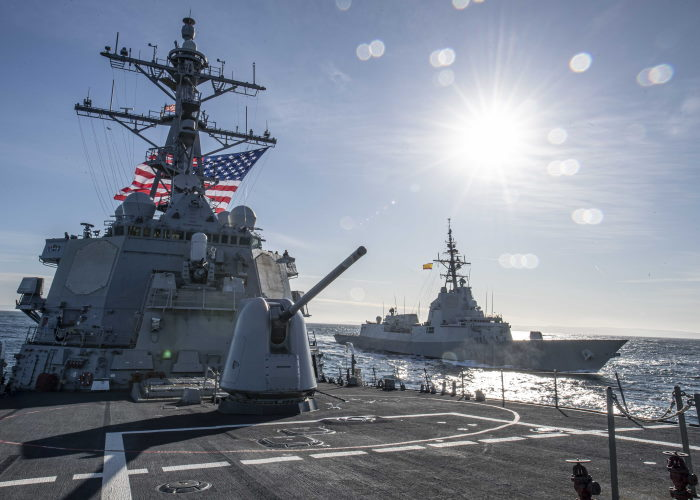 US Navy photos by Mass Communication Specialist 1st Class Fred Gray IV/ Released. USN ©