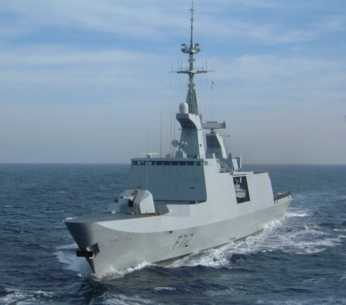 French frigate FS Courbet F712. Picture: Wikipedia, featured in Africa PORTS & SHIPS maritime news