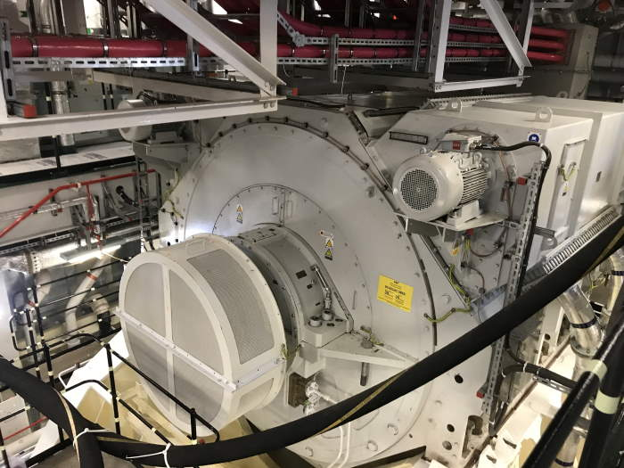 GE's Advanced Induction Motors (AIM) in HMS Prince of Wales. Photo: GE Power ©, featured in Africa PORTS & SHIPS maritime news