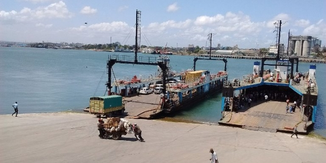 The Mombasa Gate Bridge will make redundant the ferry service linking Mombasa Island with the mainland, as seen here with the Likoni ferry, featured in Africa PORTS & SHIPS maritime news