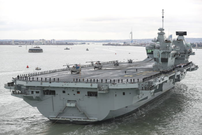 HMS Prince of Wales sailed into her homeport of Portsmouth for the first time on 16 November last – marking a significant milestone in the Royal Navy's aircraft carrier history. Photo: MoD Crown Copyright 2019 ©, featured in Africa PORTS & SHIPS maritime news
