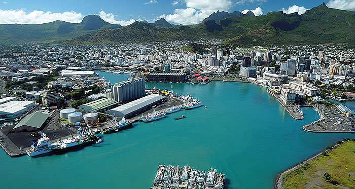 Port Louis harbour, Mauritius, featured in Africa PORTS & SHIPS maritime news