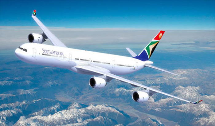 The once mighty South African Airways, grounded for now, featured in Africa PORTS & SHIPS