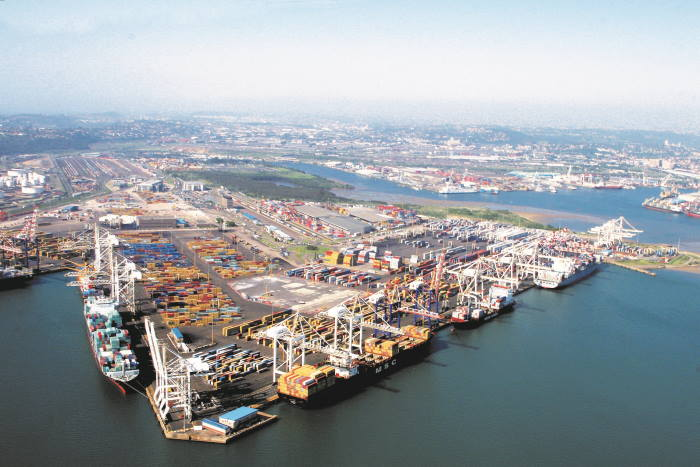 Durban Container Terminal Pier 2,, featured in Africa PORTS & SHIPS
