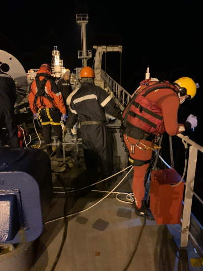 Hellenic Republic and NSRI medical evacuation, featured in Aferica PORTS & SHIPS