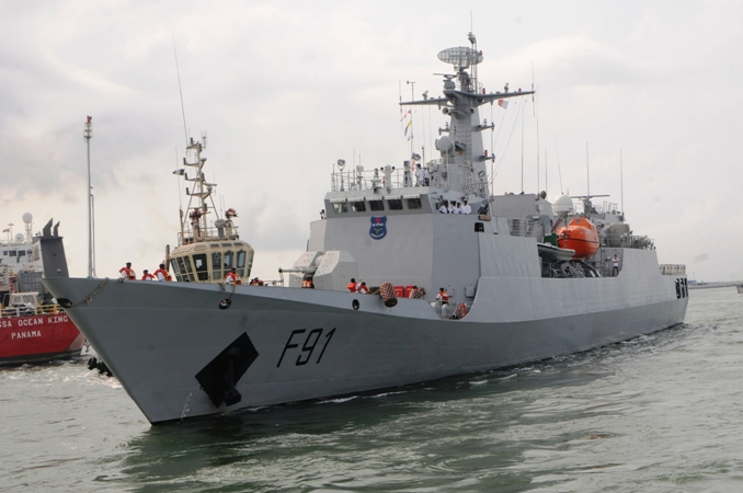 Nigerian Navy ships NNS Centenary in Lagos, featured in Africa PORTS & SHIPS