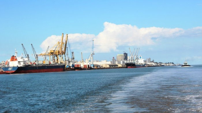Port Maputo, featured in Africa PORTS & SHIPS