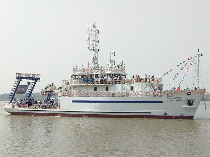 Indian survey vessel SAGAR ANVESHIKA, featured in Africa PORTS & SHIPS maritime news