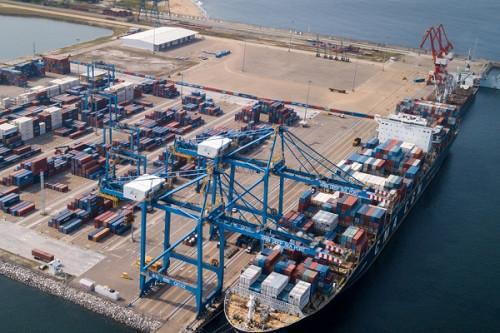 Port of Kribi in Cameroon, featured in Africa PORTS & SHIPS maritime news