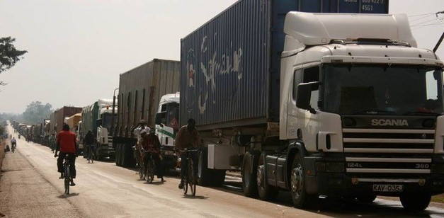 The Malaba border crossing between Kenya and Uganda, featured in Africa PORTS & SHIPS maritime news
