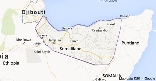 Map of Somaliland, Puntland and Somalia and The Horn of Africa featured in Africa PORTS & SHIPS maritime news