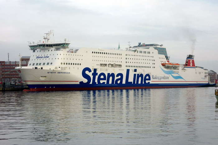Stena Germanica at Kiel, featured in Africa PORTS & SHIPS maritime news