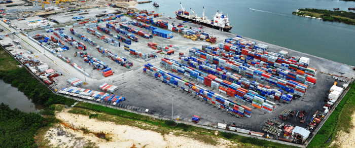 APM Terminal at Onne, featured in Africa PORTS & SHIPS maritime news