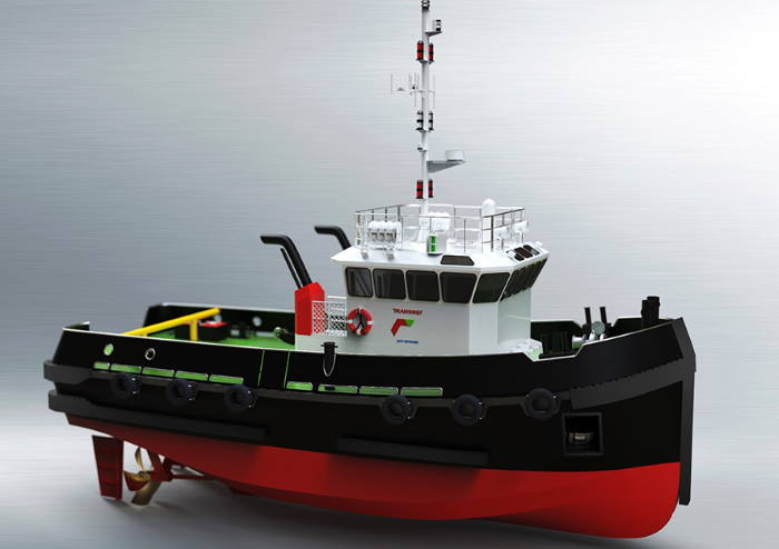 Illustration of the workboats to be built by Veecraft for the Port of Cape Town, featured in Africa PORTS & SHIPS maritime news