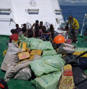 Heroin seized in Pemba. Picture social media, featured in Africa PORTS & SHIPS maritime news