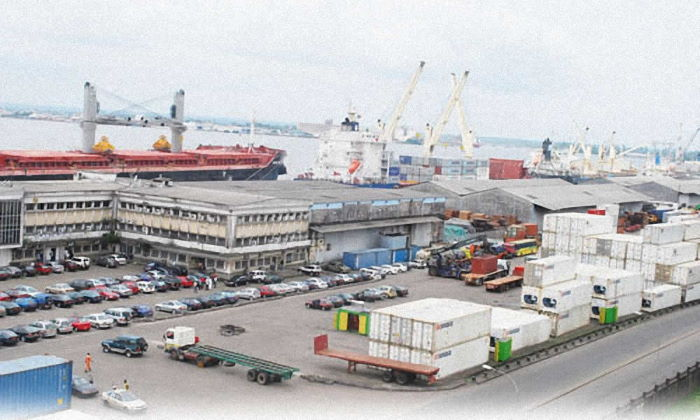 Port of Douala container terminal, featured in Africa PORTS & SHIPS maritime news
