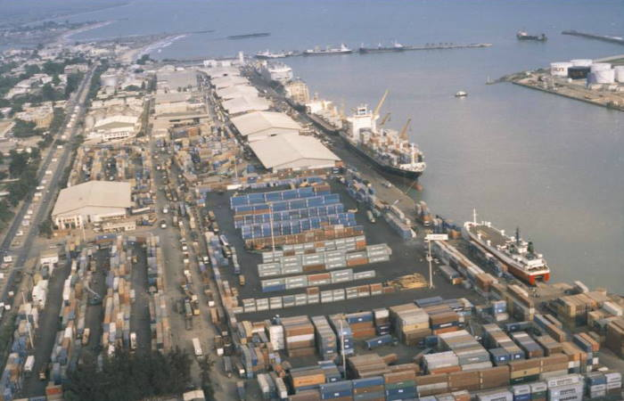Port of Cotonou in Benin, featured in Africa PORTS & SHIPS maritime news