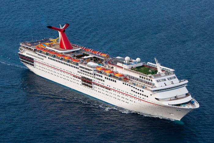 Carnival Ecstasy, featured in Africa PORTS & SHIPS maritime news