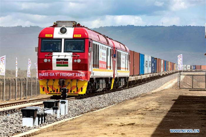 SGR container train heading to Naivasha. Picture: KR, featured in Africa PORTS & SHIPS maritime news