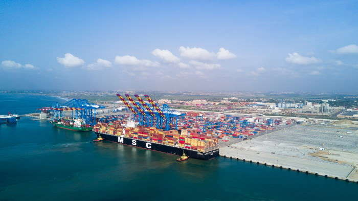 Port of Tema, Terminal 3, featured in Africa PORTS & SHIPS maritime news