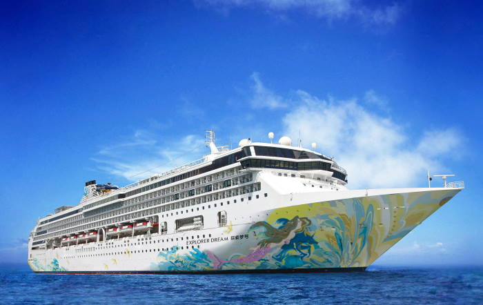 Explorer Dream under the Dream Cruises brand is the first cruise vessel undergoing DNV GL's new certification in infection prevention. Image courtesy of Genting Cruise Lines, featured in Africa PORTS & SHIPS maritime news