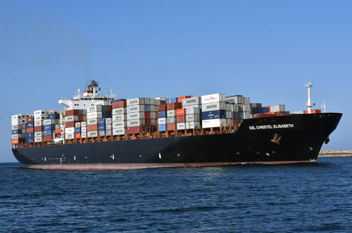 GSL Christel Elisabeth. Picture by Trevor Jones, Durban, featured in Africa PORTS & SHIPS maritime news