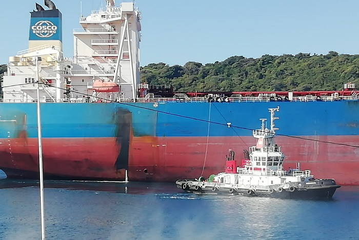 Yuan Hua Hu, Pictures are by Kevin McGregor, featured in Africa PORTS & SHIPS maritime news
