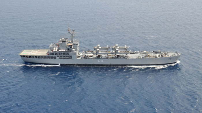 INS Kesari L15. Picture: Indian Navy, featured in Africa PORTS & SHIPS maritime news