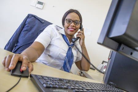 Based at the Port of Richards Bay, Nosipho Citi is the first person to serve as a Vessel Control Profiler within TNPA., featured in Africa PORTS & SHIPS maritime news