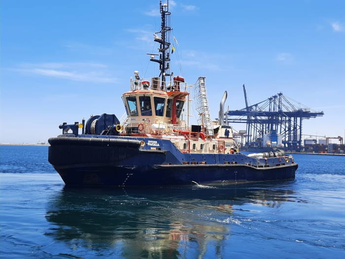 Svitzer tug NACALA operating in Nacala port, featured in Africa PORTS & SHIPS maritime news
