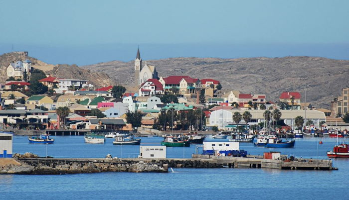 The Port of Lüderitz, picturesque and now on offer as safe haven for cruise ships, featured in Africa PORTS & SHIPS maritime news
