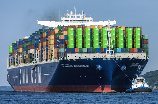 CMA CGM Alexander von Humboldt set the pattern of using the Cape route as the COVID-19 crisis reduced cargo volumes. Picture: Shipspotting, featured in Africa PORTS & SHIPS maritime news
